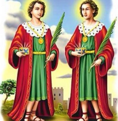 cosme damião santos gêmeos