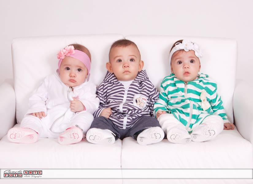 trigêmeos bebês greice